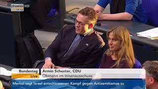 Bundestagsdebatte zur IT-Sicherheit vom 19.04.18