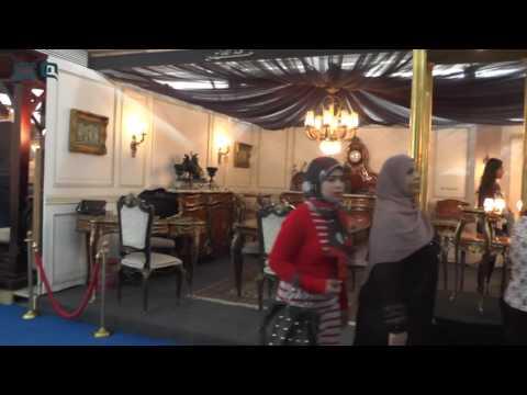 مصر العربية في يومه الأول اقبال ا متوسط على معرض القاهرة الدولي