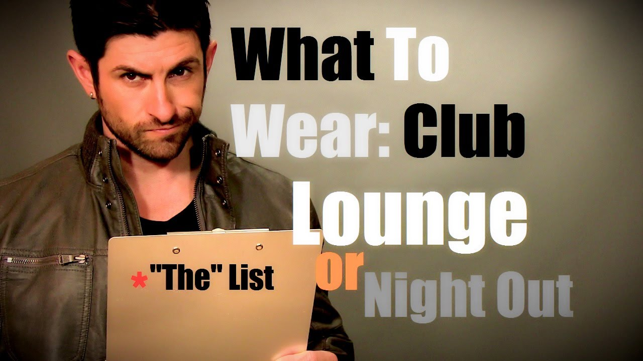 Mens night out outfit ideas