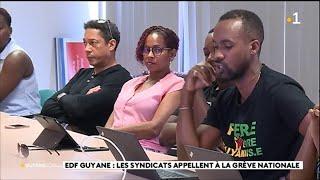 Les syndicats de EDF Guyane appellent à la grève pour ce 19 novembre