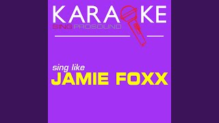Storm (Forecass) (In the Style of Jamie Foxx) (Karaoke Instrumental Version)