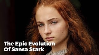 The epic evolution of sansa stark