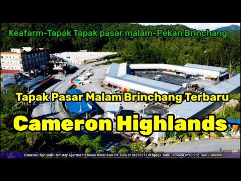 Tapak Pasar Malam Baru Brinchang.[Kea Farm-Pekan Brinchang] Cameron Highlands Malaysia