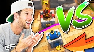 LVL 1 VS 6 / Clash Royale / HOW DID WE DO THAT!?