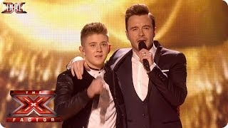 Nicholas McDonald sings Flying Without Wings with Shane Filan - Live Week 10 - The X Factor 2013 thumbnail