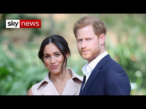 Harry and Meghan to lose royal funds and HRH titles