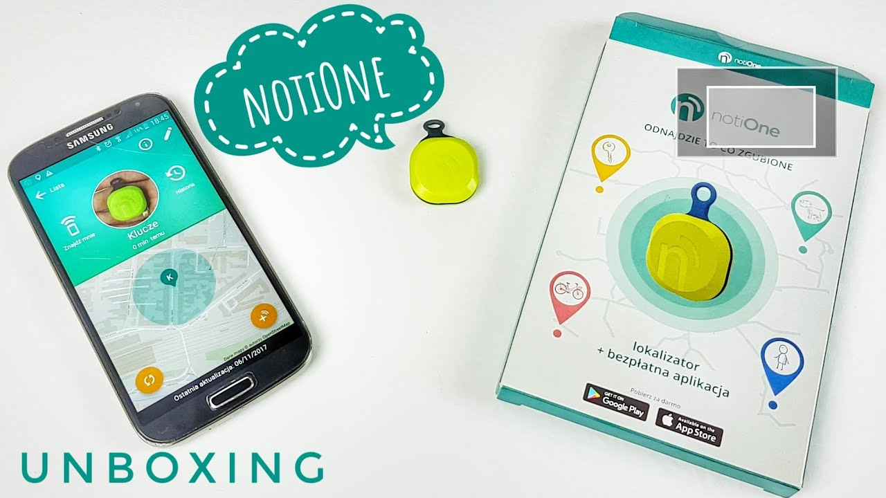 notiOne lokalizator bluetooth Unboxing | ForumWiedzy