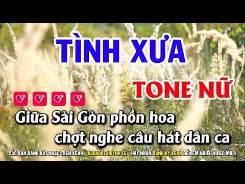 karaoke tình xưa tại Xemloibaihat.com