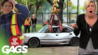 Best Of Just For Laughs Gags - Crazy Car Pranks