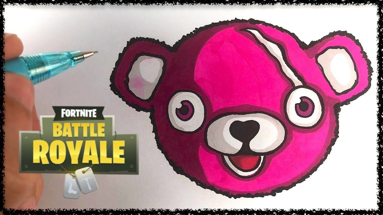 Draw Cuddle Team Leader Fortnite