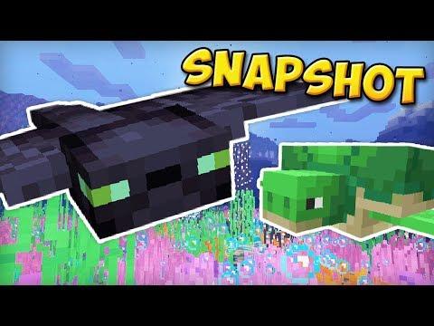 NOUVEAUX MONSTRES & TRIDENT ! | Snapshot 1.13 Minecraft
