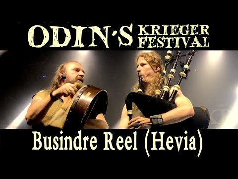Busindre Reel (Hevia) on Bagpipes - Odin's Krieger Festival, Brazil - Rapalje Celtic Folk Music