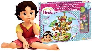 HEIDI Italiano - Apriamo la Casa sull'Albero di Heidi [Apertura Unboxing Gioco per Bambini]