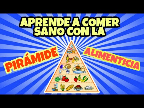 Pir mide alimenticia ni os youtube - Piramide alimentaria para ninos ...