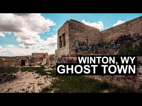 Exploring The Ghost Town Winton, Wyoming