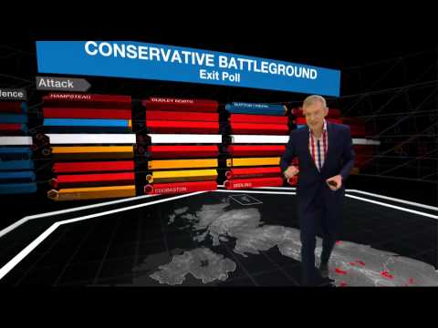Highlights of Jeremy Vine covering the 2015 general election