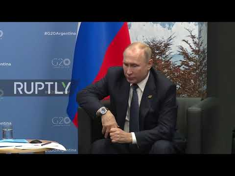 Argentina: Putin and Macron discuss Syria, Ukraine, European security at G20