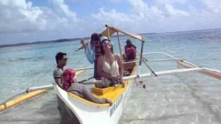 At Naked Island, Surigao, Siargao...