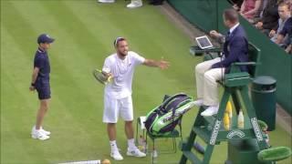 Viktor Troicki Wimbledon meltdown