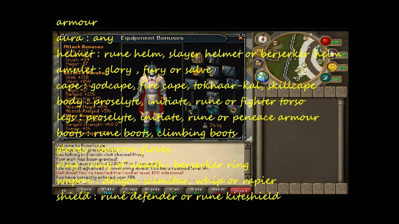 Ultimate slayer guide for Rune pures and zerker pure - aberrant spectres