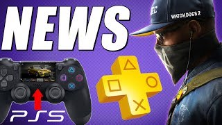 PS PLUS November 2019 - HUGE PS5 Update - PS5 Controller & Backwards Compatibility - FREE PS4 Games