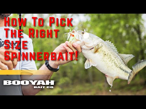 BOOYAH Covert Series | How To Choose Spinnerbait Weight Sizes
