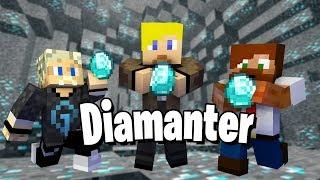 Vem hittar diamanter först!?