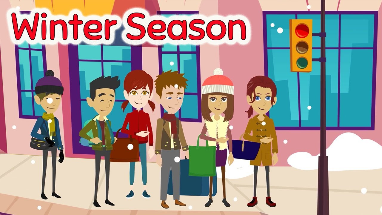 Download The Seasons Series :  Winter -  Easy Learn English Speaking Practice Conversation