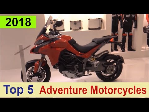Top 5 Adventure Motorcycles for 2018