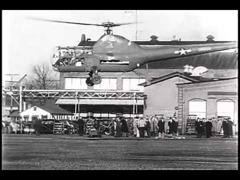 Sikorsky R 5, 1945 - Les Morris Pilot