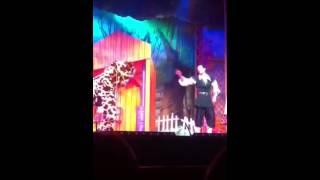 George Sampson singing blurred lines