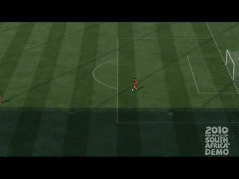 FIFA World Cup 2010 Demo PS3 Xabi Alonso's Goal & Celebration