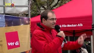 Mehr Lohn und weitere Forderungen - Öffentlicher Dienst streikt
