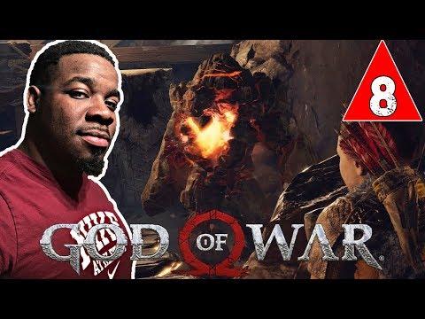 ROCK GIANT SOUL EATER HIDDEN ENEMY !! God Of War Gameplay Walkthrough Part 8 - God Of War 4