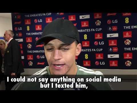 ALEXIS SANCHEZ: Arsene Wenger is a football legend...