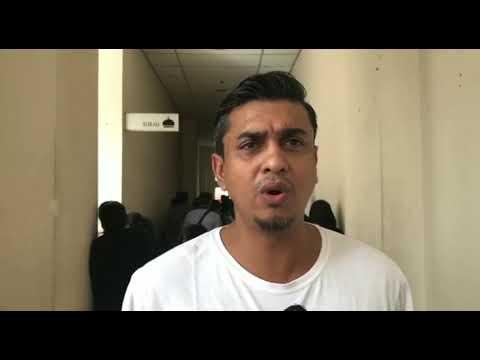 Azad & Azhan Rani datang mahkamah tunggu Datuk Farid Kamil bebas dari reman