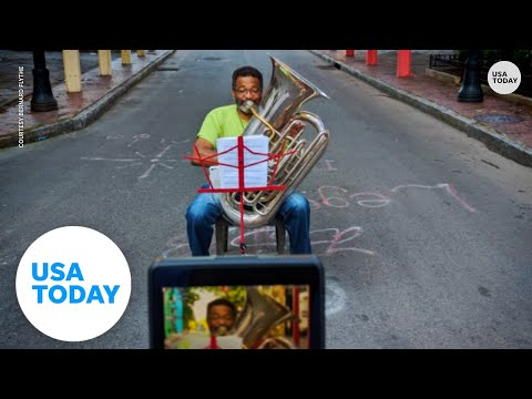 How pro tuba player adapted during a year of COVID-19, when live music went silent   USA TODAY