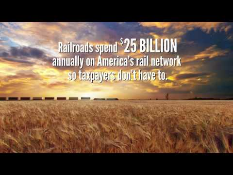 Freight Rail Invests So Taxpayers Don't (A Worry Free Moment)
