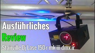Ausführliches Review Stairville DJ Lase 150-R MK-III DMX IR