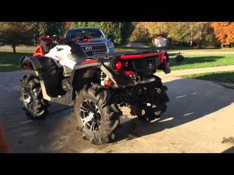 2016 can am XMR 1000R with can am yoshimura exhaust