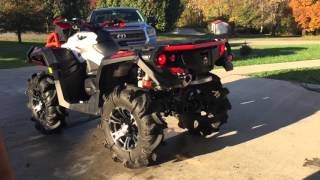 Repeat youtube video 2016 can am XMR 1000R with can am yoshimura exhaust