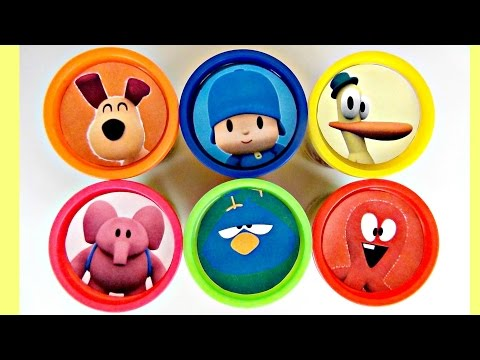 "Thumbnail: Best Learn Colors LET""S GO POCOYO! Play-doh Toy Surprises, Nursery Rhyme, Elly, Pato Friends TUYC"