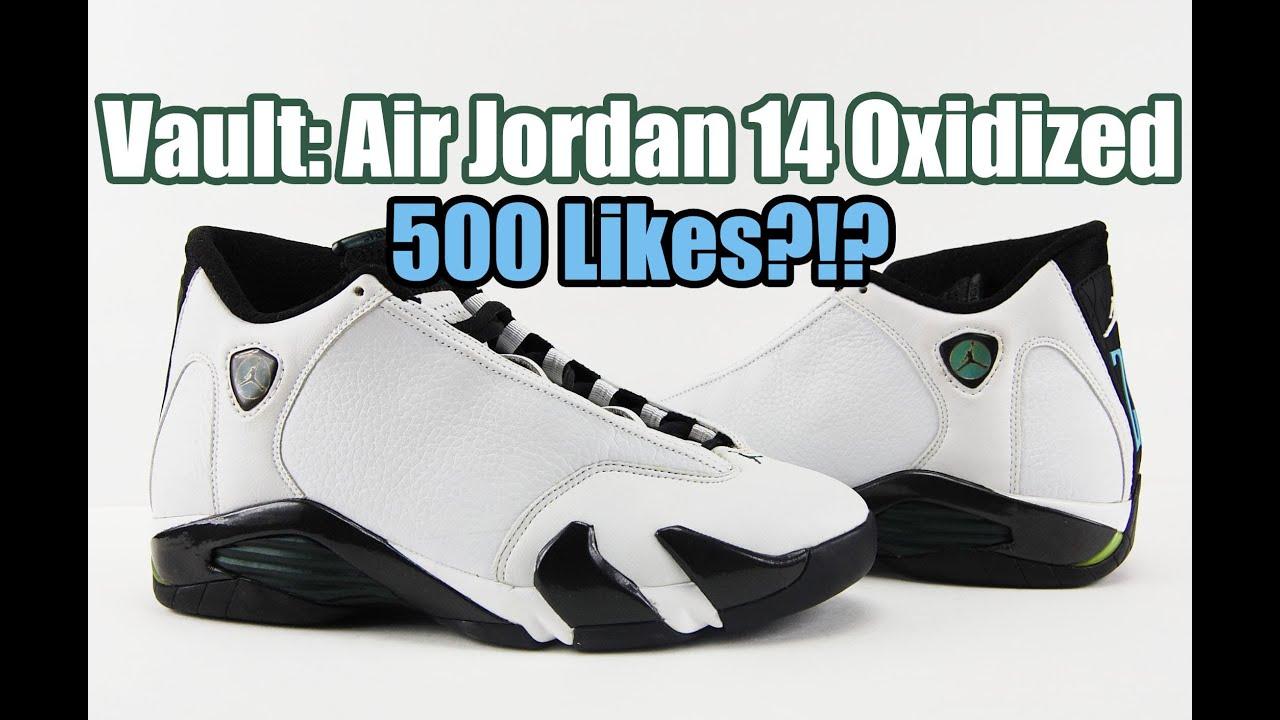 a956e06e84ff Vault  Air Jordan 14 Original (OG) Oxidized Green 1999 - YouTube