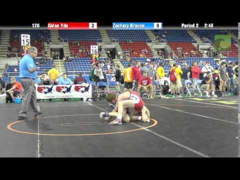 126 Aidan Yde vs. Zachary Krause