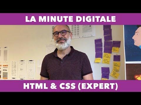 La Minute Digitale - HTML / CSS, Parole D'expert