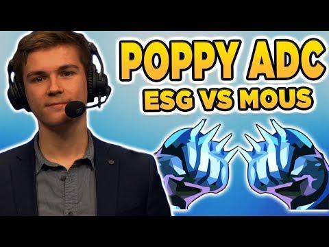 Broeki Poppy ADC! Halbfinale ESG vs Mouz mit Sola & Johnny | Highlights LoL
