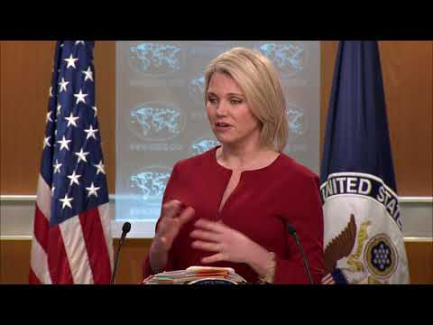 Department Press Briefing  - February 15, 2018
