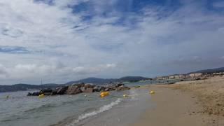 #1 VLOG  France-Cote D'Azur ( Camping de la plage)