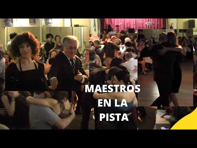 Maestros del baile del tango. Maria Plazaolla, Ricardo Viqueira, Oscar Hector, Susana Miller,