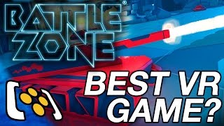 Battlezone: PlayStation VR Gameplay - Best VR Game?